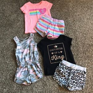 Girls Children's Place Lot 3T summer outfits
